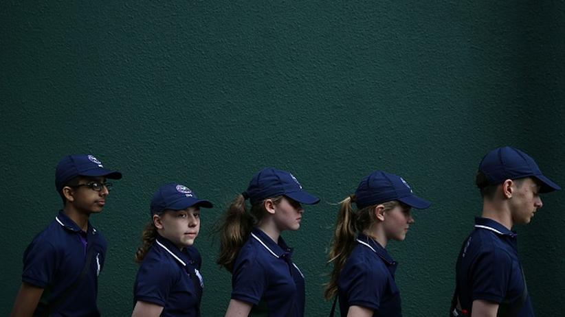 Wimbledon: Bloß nicht auffallen