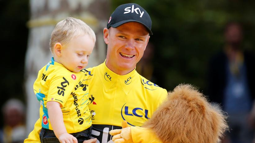 Radsport: Christopher Froome gewinnt Tour de France