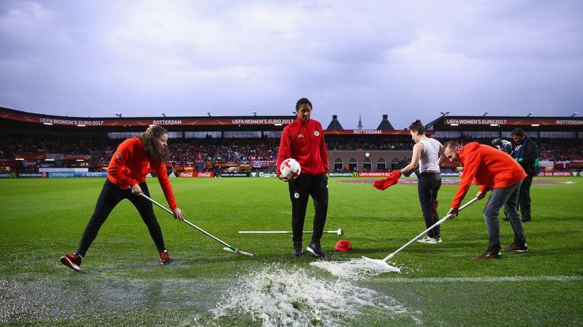 Frauenfußball-EM: Viertelfinale Deutschland gegen Dänemark abgesagt