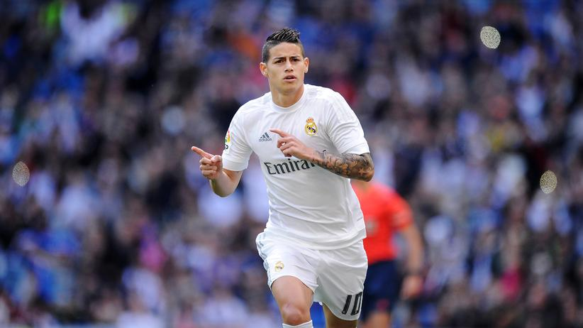 James Rodríguez: Er war nicht mal Ersatzspieler