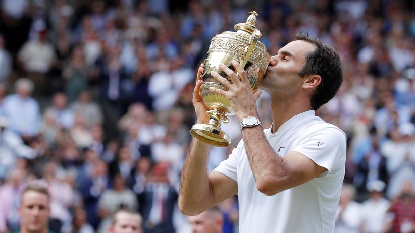 Tennis: Roger Federer gewinnt zum achten Mal Wimbledon
