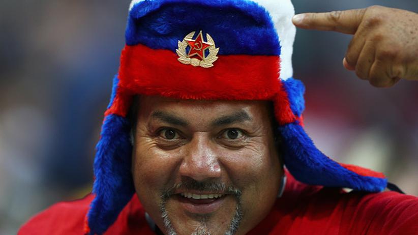 Confed Cup: Hallo, Klischee: ein russischer Fan