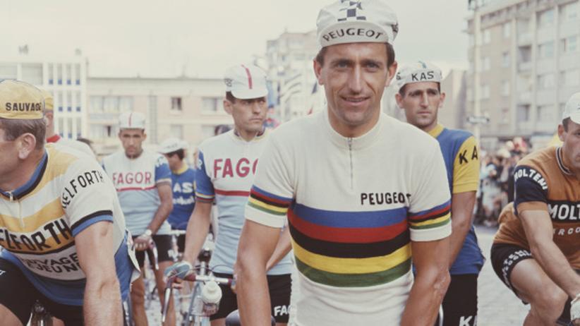 Tom Simpson vor der Tour 1966