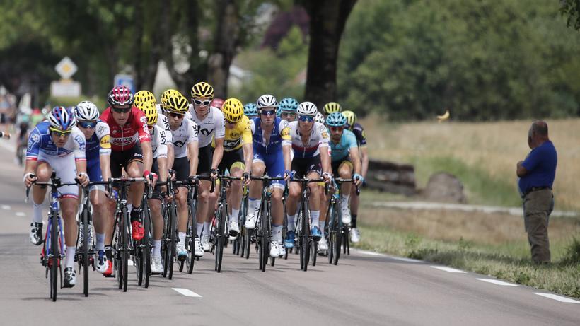 Tour De France: Eine Aktuelle Szene Der 104. Ausgabe