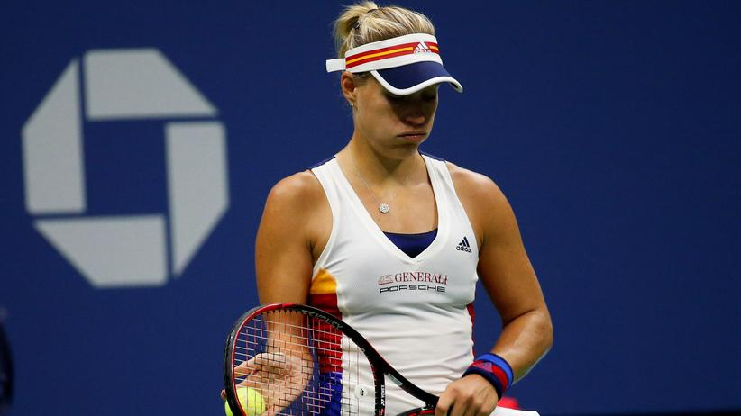 US Open: Titelverteidigerin Kerber scheidet in erster Runde aus