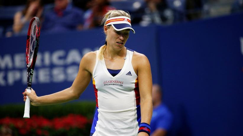 Angelique Kerber: Angelique Kerber im Erstrunden-Match der US Open