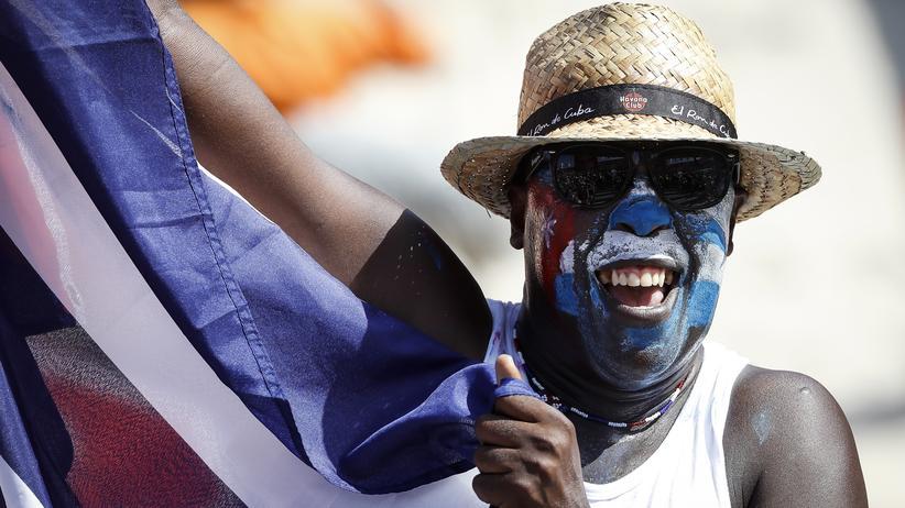 Beachvolleyball-WM: Kubas Fans sind eine Bereicherung für die WM in Wien.