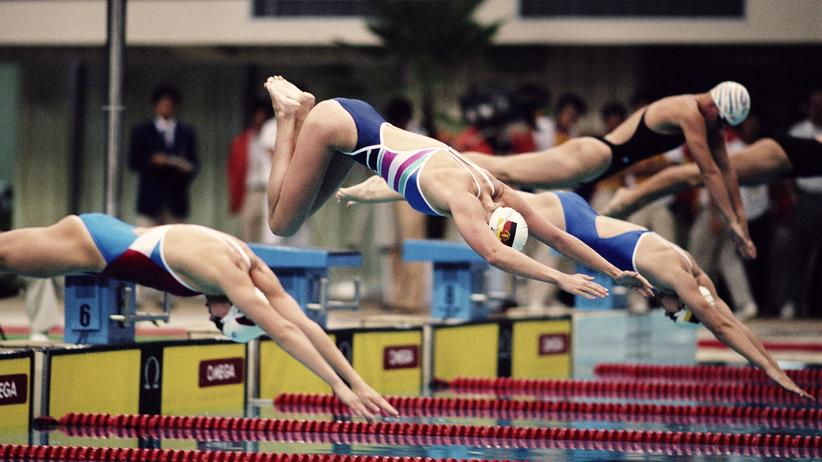 Doping: Schwimmerinnen bei der Olympiade 1988 in Seoul