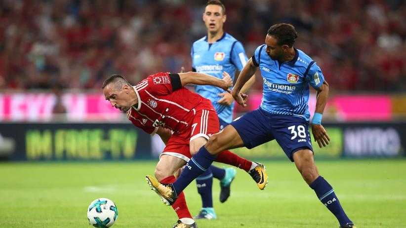 Bayern-Profi Franck Ribéry wurschtelt sich durch.