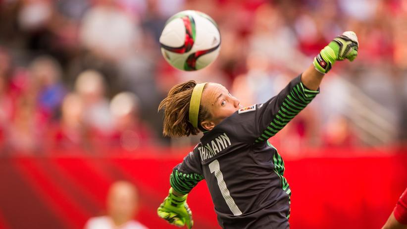 Frauenfußball-EM: Die Schweizer Torfrau Gaëlle Thalmann