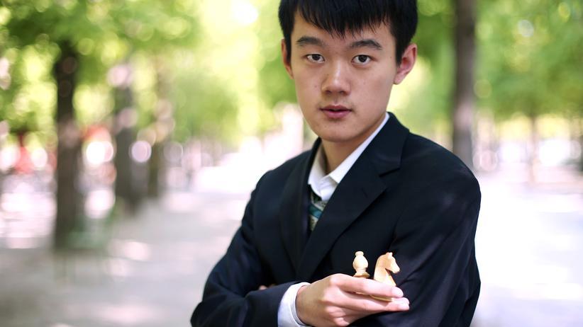Der Chinese Ding Liren spielt seit zwanzig Jahren Schach.
