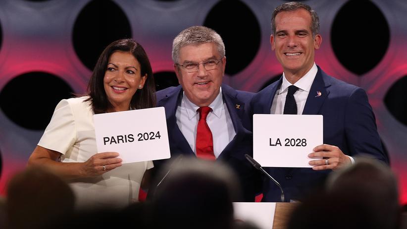 Vergabe der Olympischen Spiele in Lima