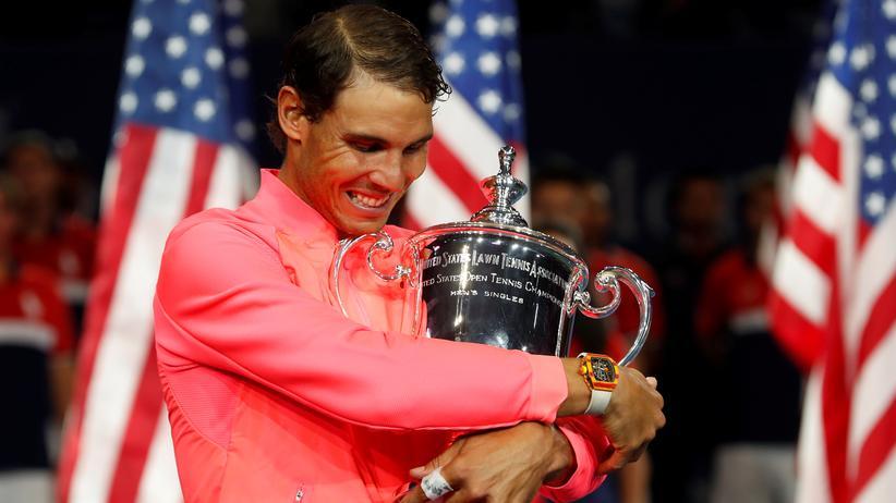 Tennis: Nadal gewinnt zum dritten Mal die US Open