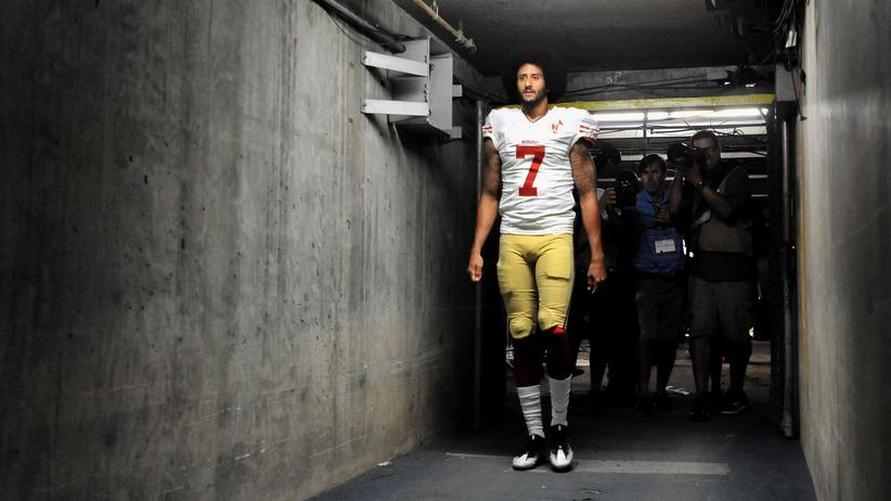 Colin Kaepernick im September 2016