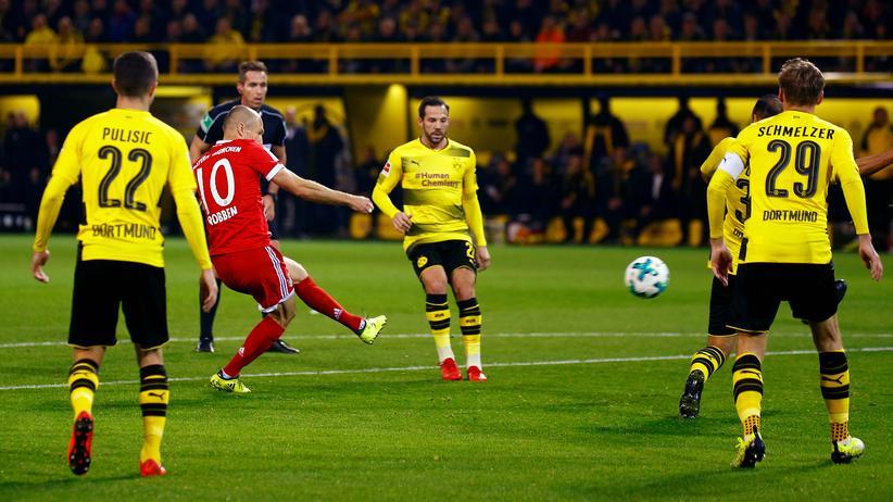 Bundesliga-Rückschau: Und ewig trifft Arjen Robben