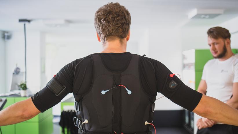 Elektronische Muskel-Stimulation: Ich brauch' mehr Strom!