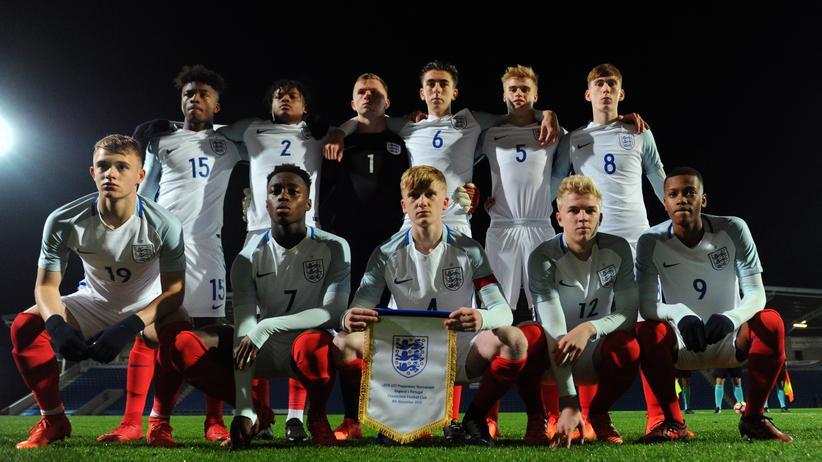 Fußball in England: Die englische U17 im November 2017