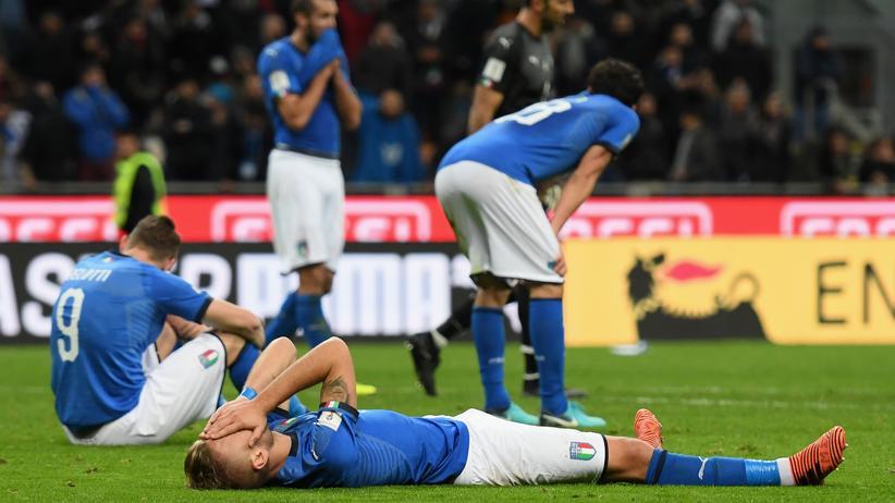 Am Boden: Italiens Fußball