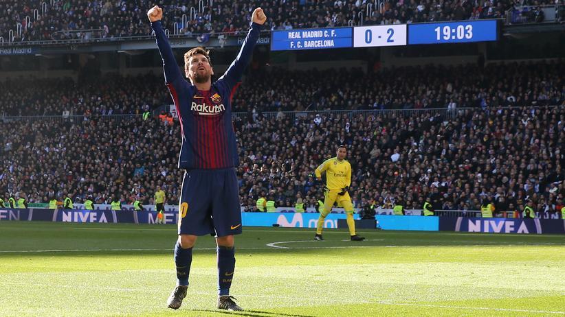 Primera División: Real verliert gegen Barça
