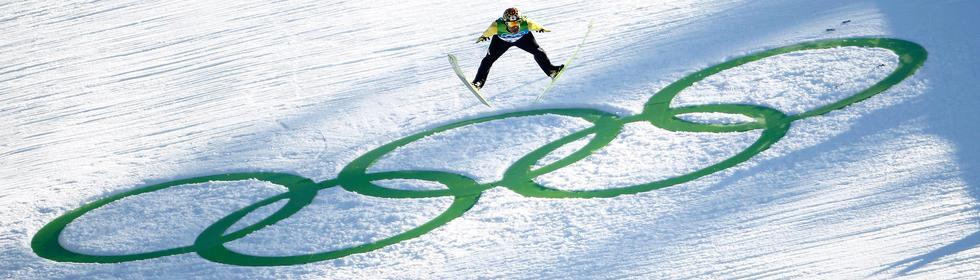Olympische Winterspiele Thema