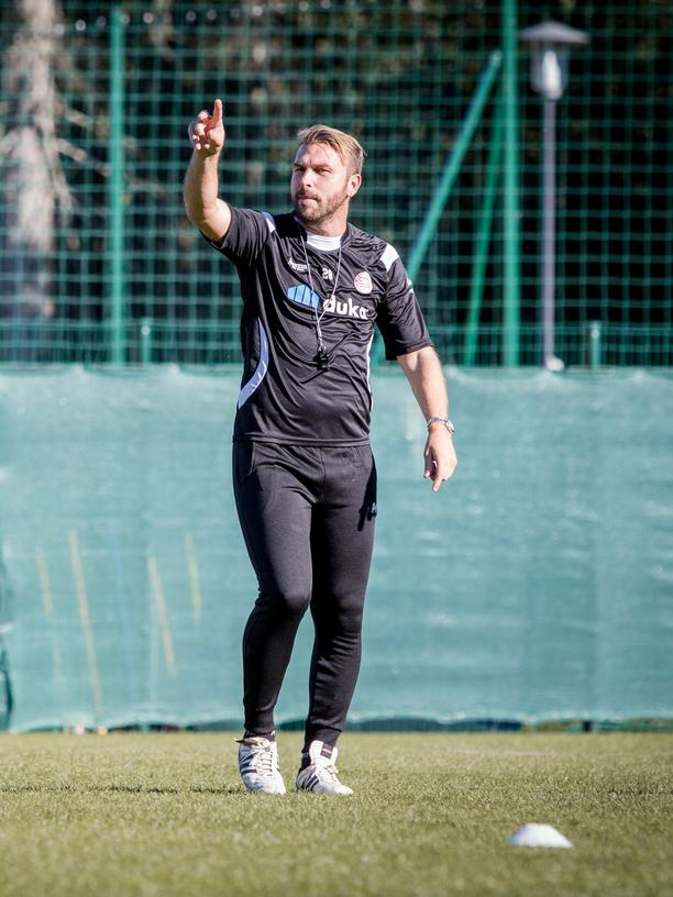 Paolo Zanetti, der Trainer des FC Südtirol.