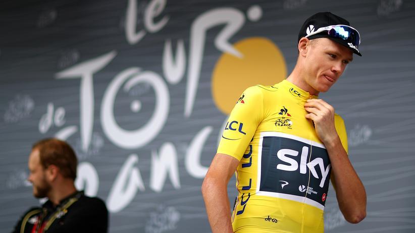 Radsport: Gewann viele Titel: Radsportler Chris Froom