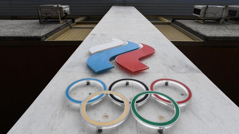 IOC: Der Sitz des Russischen Olympischen Komitees in Moskau