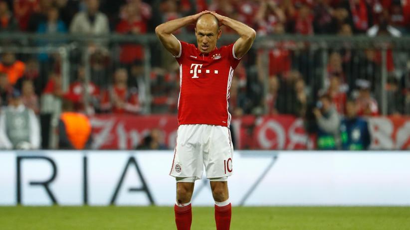 Von der ZEIT ONLINE Community ernsthaft betroffen: Arjen Robben.