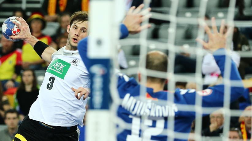 Handball-EM: Deutschland gewinnt gegen Montenegro