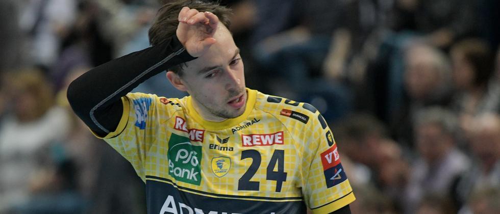 """Der deutsche Handballer Patrick Groetzki sagt: """"Ich bin froh, wenn ich so einen Monat wie den November nie wieder erleben muss"""""""