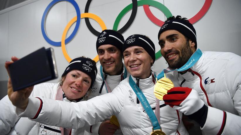 Olympia heute: Nicht ohne mein Team