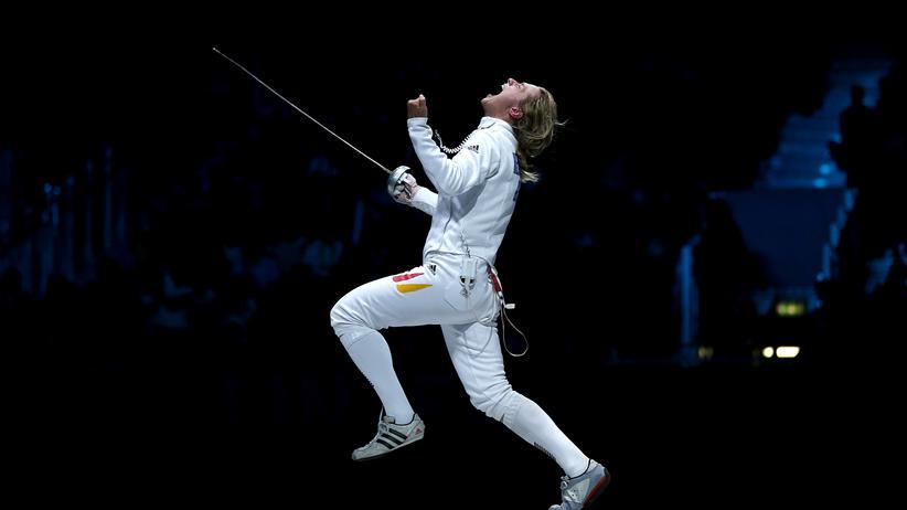 Fechten: Olympiasiegerin Britta Heidemann beendet ihre Karriere