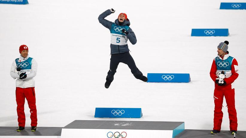 Olympia heute: Eric Frenzel könnte in Pyeongchang zum zweiten Mal aufs Siegerpodest springen.