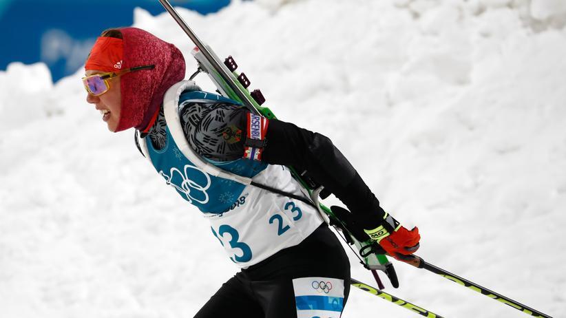 Biathlon: Fehlerfrei am Schießstand: Laura Dahlmeier