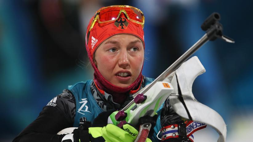 Biathlon: Dahlmeier gewinnt zweite Goldmedaille