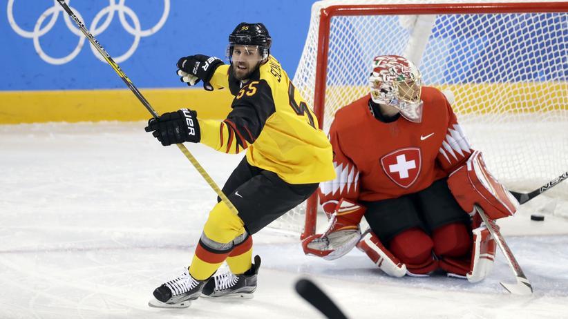 Olympia 2018: Deutsches Eishockeyteam steht im Viertelfinale