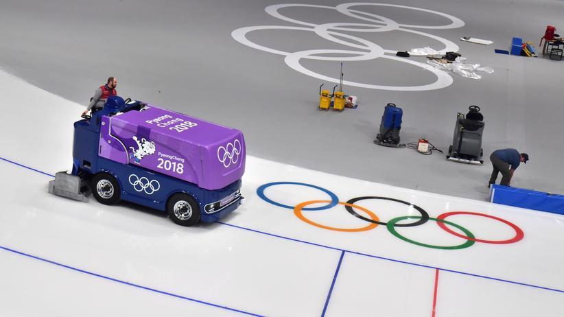 """Olympische Winterspiele: """"Ich träume jede Nacht von meinem Eis"""""""
