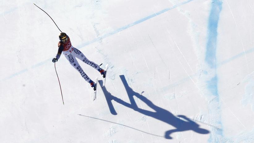 Olympische Winterspiele: Viktoria Rebensburg, Deutschlands beste Alpinfahrerin, landete in Pyeongchang auf den Rängen 4, 9 und 10.