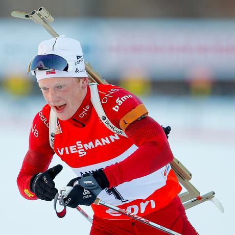 Olympische Winterspiele: Das 24-jährige Biathlon-Talent Johannes Thingnes Bø läuft in Südkorea für Norwegen auf.