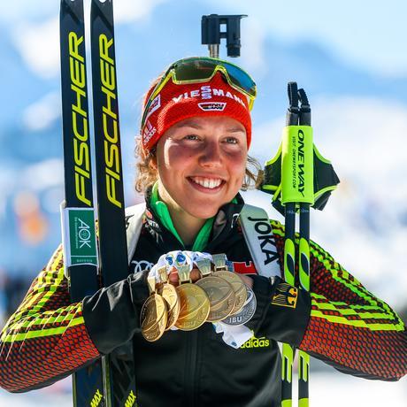 Olympische Winterspiele: Die deutsche Goldhoffnung: Biathletin Laura Dahlmeier