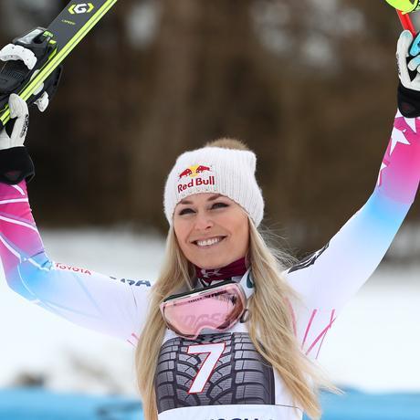 Olympische Winterspiele: Die US-amerikanische Skirennläuferin und mehrfache Weltcupsiegerin Lindsey Vonn ist eine heiße Anwärterin auf olympisches Edelmetall.