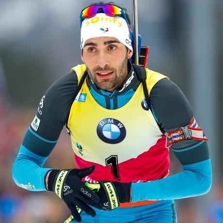 Olympische Winterspiele: In Pyeongchang nimmt der französische Biathlet Martin Fourcade an seinen bislang dritten Olympischen Winterspielen teil.
