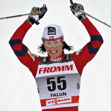 Olympische Winterspiele: Für die Rekord-Skilangläuferin Marit Bjørgen könnten es die letzten Olympischen Spiele werden.