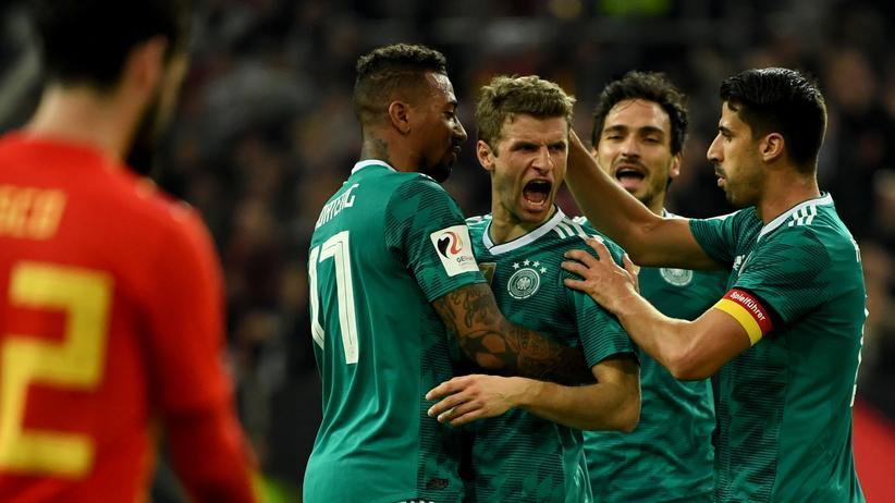 WM-Vorbereitung: Deutschland und Spanien spielen Unentschieden