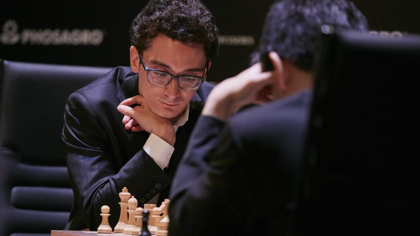Kandidatenturnier: Fabiano Caruana bot nervenstarken Konterschach.