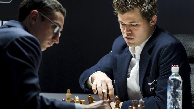 Schach: Alle wollen ihm gegenübersitzen: Der Schach-Weltmeister Magnus Carlsen
