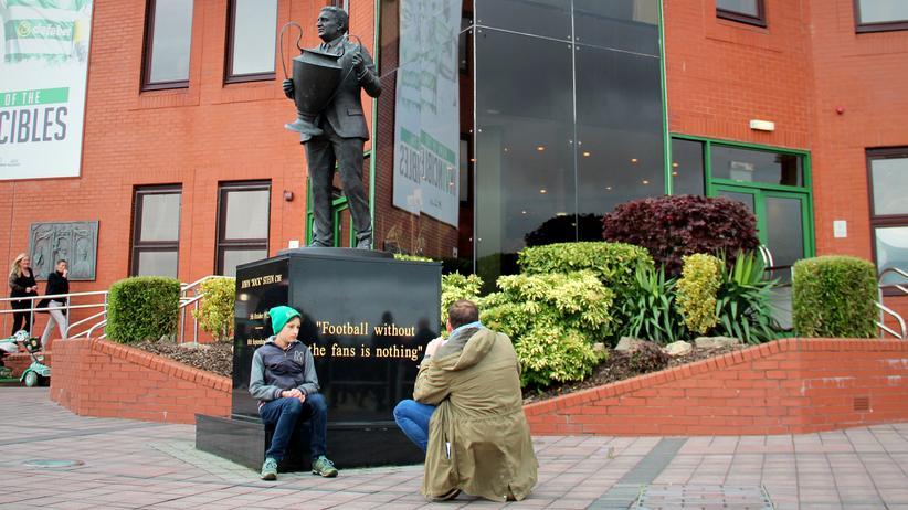 Autismus: Jason und Mirco besuchen ihr 71. Spiel: Celtic Glasgow gegen Kilmarnock FC.