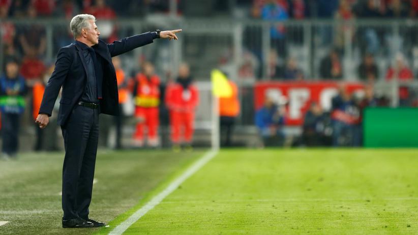 Champions League: Der Trainer des FC Bayern München, Jupp Heynckes
