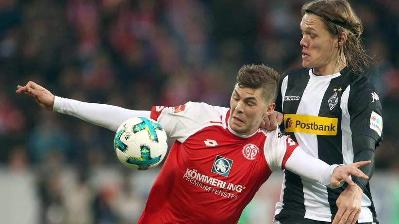 Bundesliga, 28. Spieltag: Mainz und Mönchengladbach spielen unentschieden
