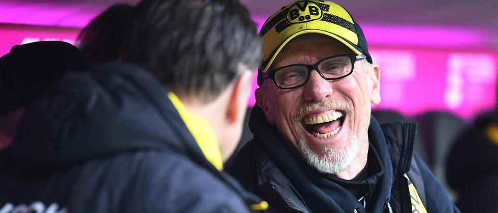 Dortmunds Trainer Peter Stöger.